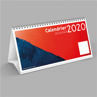 CALENDRIER 2020 CHEVALET